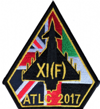 No. XI (11) Squadron RAF ATLC UAE Eurofighter Typhoon Embroidered Patch